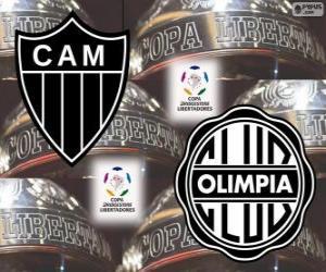 Rompicapo di Olimpia Asuncion vs Atlético Mineiro. Finale Copa Libertadores 2013