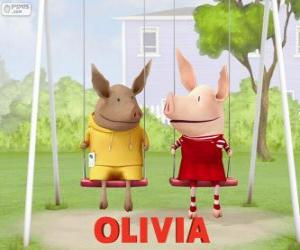 Rompicapo di Olivia e Giuliano sull'altalena