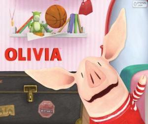 Rompicapo di Olivia il piccolo maiale