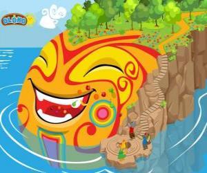 Rompicapo di Oloko. Crea il tuo mondo con il gioco di strategia online per bambini intelligenti