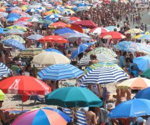 Rompicapo di Ombrelloni da spiaggia