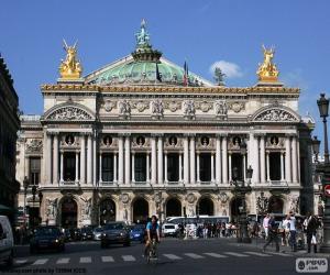 Rompicapo di Opéra Garnier, facciata