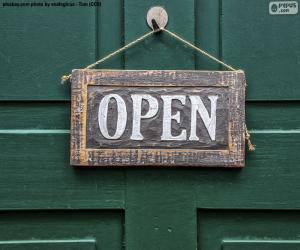 Rompicapo di Open, aperto