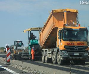 Rompicapo di Opere di asfaltatura