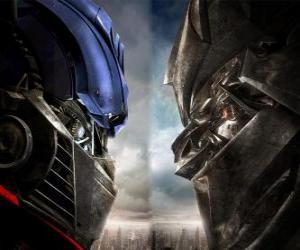 Rompicapo di Optimus vs Megatron