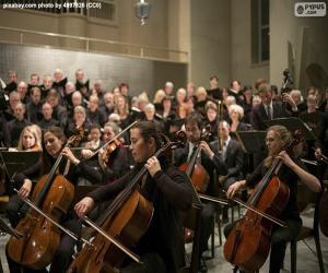 Rompicapo di Orchestra di musica classica