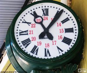 Rompicapo di Orologio della stazione
