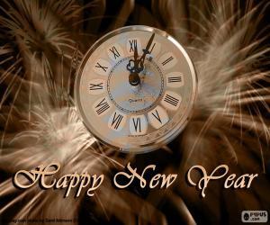 Rompicapo di Orologio di nuovo anno