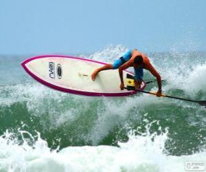 Rompicapo di Paddle surf