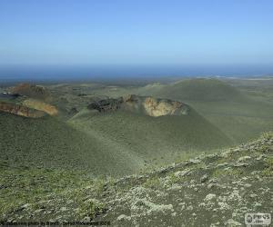Rompicapo di Paesaggio vulcanico, Lanzarote