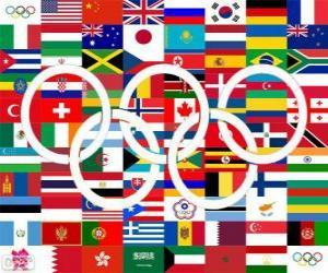 Rompicapo di Paesi i medagliati Londra 2012