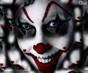 Rompicapo di Pagliaccio Halloween