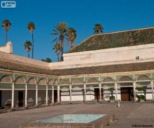 Rompicapo di Palazzo della Bahia, Marrakech, Marocco