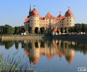 Rompicapo di Palazzo di Moritzburg, Germania