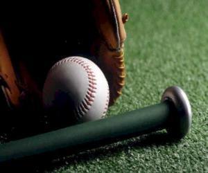 Rompicapo di Palla da baseball, guanto e mazze