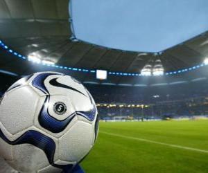 Rompicapo di Palla in uno stadio di calcio