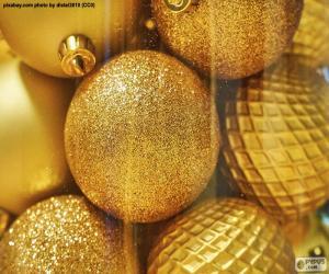 Rompicapo di Palle d'oro per Natale