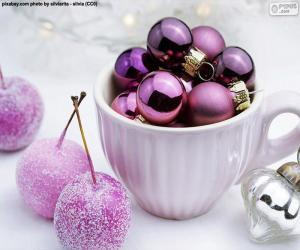 Rompicapo di Palle di Natale in tazza