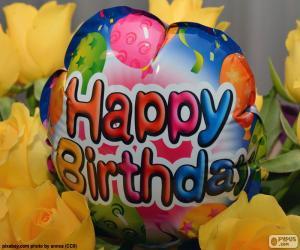 Rompicapo di Palloncino Happy Birthday