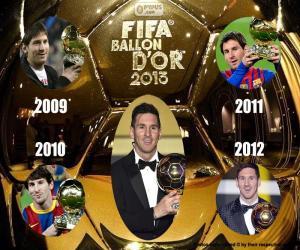 Rompicapo di Pallone d'oro FIFA 2015