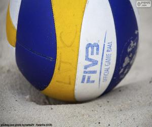 Rompicapo di Pallone volley da spiaggia