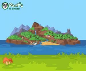 Rompicapo di Panfu isola
