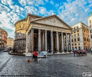 Rompicapo di Pantheon, Roma