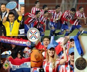Rompicapo di Paraguay, 2 ° posto Coppa America 2011