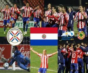 Rompicapo di Paraguay finalista, Copa América Argentina 2011