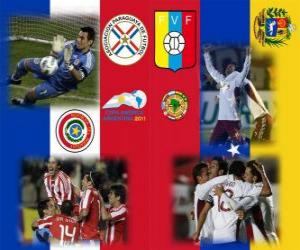 Rompicapo di Paraguay - Venezuela, semifinali, Copa América Argentina 2011