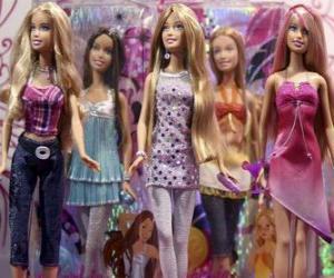 Rompicapo di Parata di Barbie