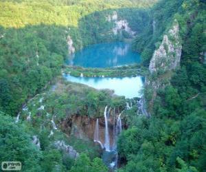 Rompicapo di Parco nazionale dei laghi di Plitvice, Croazia