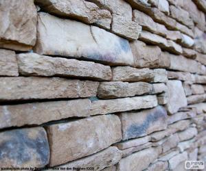 Rompicapo di Parete di pietra naturale