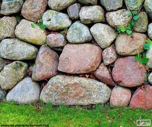 Rompicapo di Parete giardino di pietra