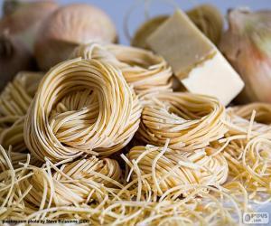 Rompicapo di Pasta italiana, spaghetti