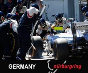 Rompicapo di Pastor Maldonado - Williams - Nürburgring, 2013