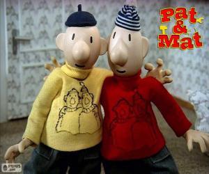Rompicapo di Pat e Mat, due amici