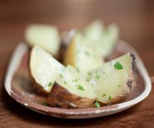 Rompicapo di Patate arrosto