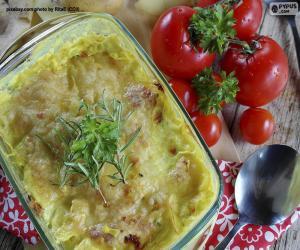 Rompicapo di Patate gratinate