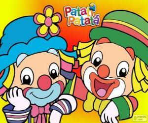 Rompicapo di Patati e Patatá, i due Clown sono grandi amici