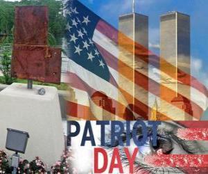 Rompicapo di Patriot Day, 11 settembre negli Stati Uniti, in ricordo degli attentati di 11 Settembre 2001