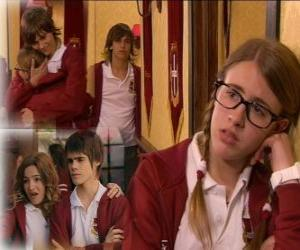 Rompicapo di Patty con Bruno e Antonella con Matias