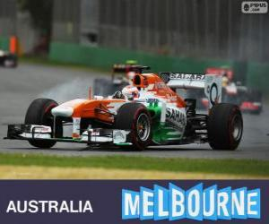 Rompicapo di Paul di Resta - Force India - Melbourne 2013