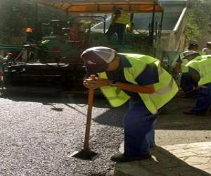 Rompicapo di Pavimentazione dei lavoratori