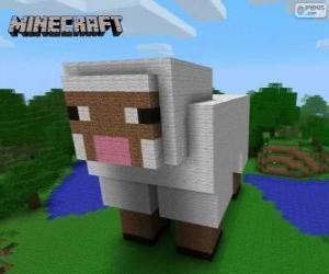 Rompicapo di Pecora di Minecraft
