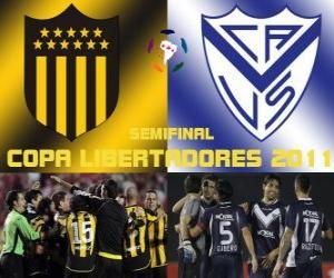 Rompicapo di Peñarol Montevideo - Velez Sarsfield. Copa Libertadores 2011 Semifinale