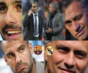 Rompicapo di Pep Guardiola VS Jose Mourinho, 2010-11