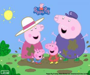 Rompicapo di Peppa Pig con i nonni