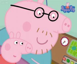 Rompicapo di Peppa Pig e suo padre