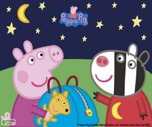 Rompicapo di Peppa pig e Zoe Zebra